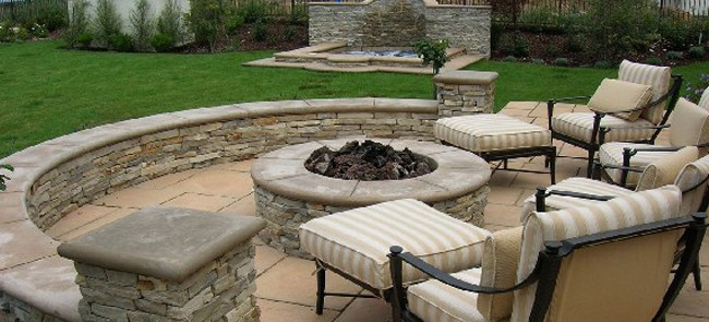Outdoor Living Space Extraordinary Outdoor Living Space Outdoor Kitchen Grills Patios In Lake Decorating Design