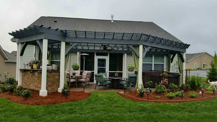 Pergola Project in the Charlotte, NC Area