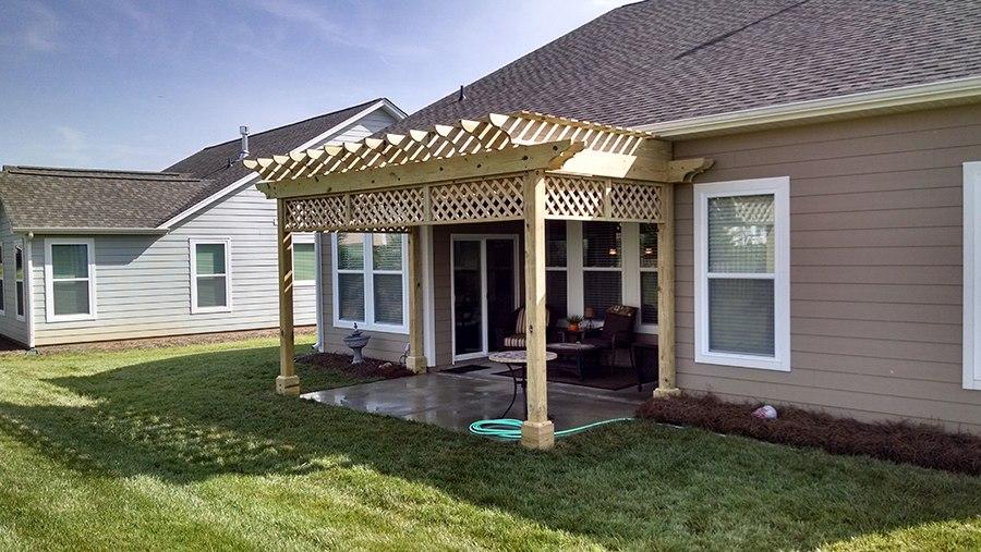 Charlotte, NC Area Pergola Builder