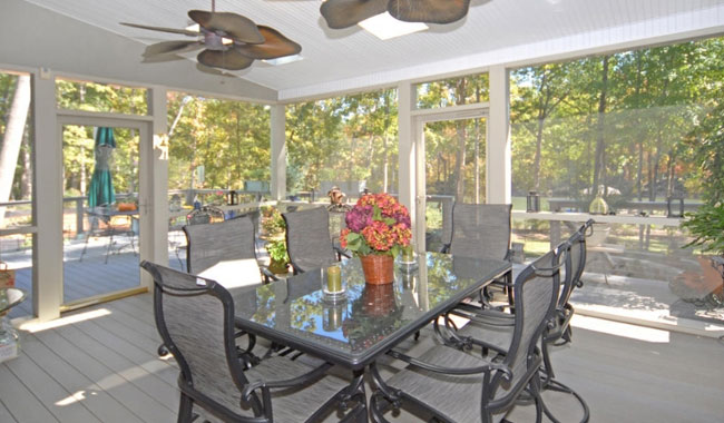 Sunroom and Home Addition Contractor in Lake Norman and Charlotte NC