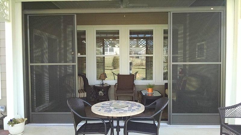 Roof Design Ideas: Screened Porch And Pergola Combo