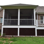 Davidson NC Screen Porch and Grilling Deck