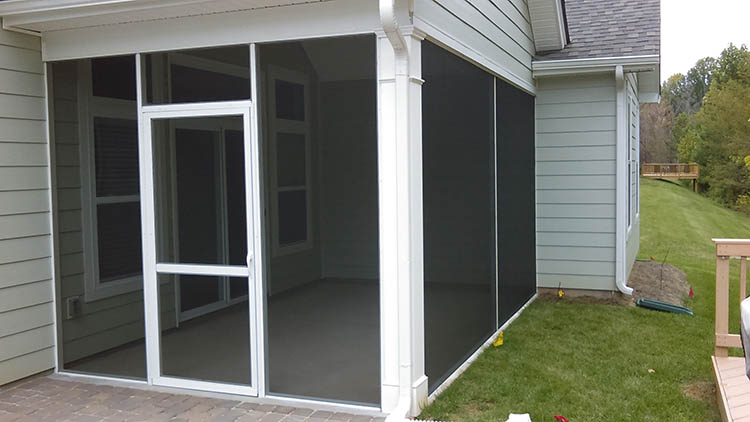 Screened In Covered Porch in Charlotte, NC