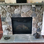 Davidson NC Fireplace Stone Wall Contractor