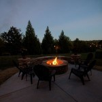 Stone Fire Pit and Patio from JAG Construction in Mooresville, NC