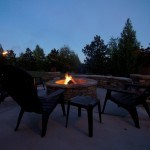 Stone Fire Pit and Patio from JAG Construction in Charlotte, NC