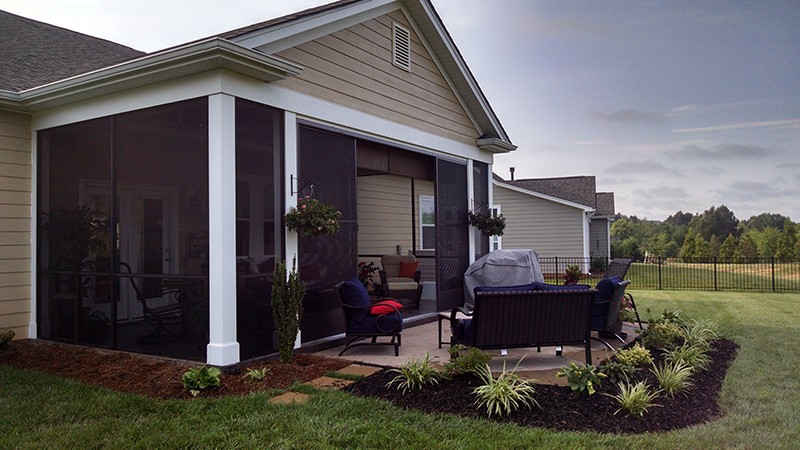 installation screen and raleigh for o robco screened porch our charlotte porches bring the