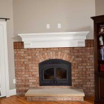 Charlotte, NC Brick Fireplace Builder - AFTER