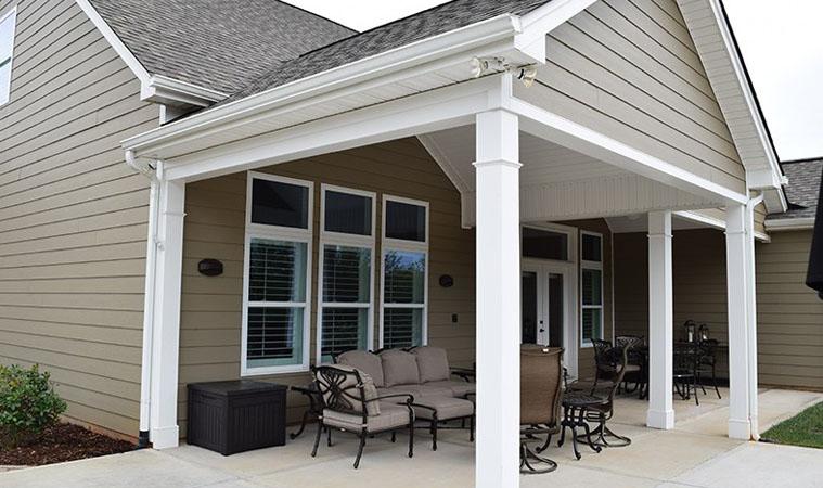 Porch Contractor Covered Screen Four Season Sunroom