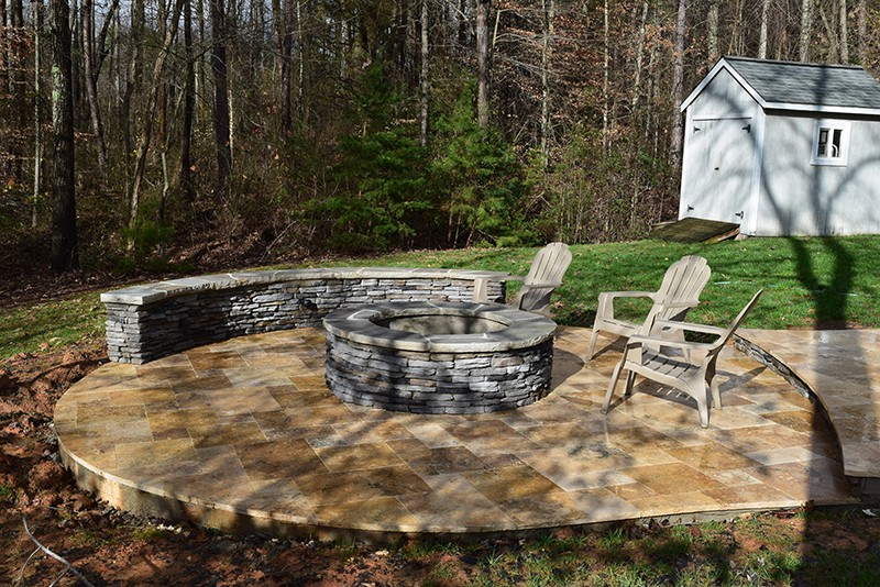 Mooresville Nc 3 Seasons Room Patio Fire Pit Lake