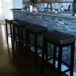 Charlotte Bar, Knee Wall Tile Renovation