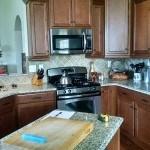 Charlotte, NC Tile Kitchen Backsplash BEFORE