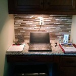 Desk Nook Kitchen Tile Renovation Charlotte, NC