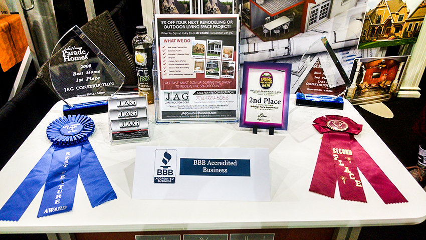 JAG Construction Charlotte, NC Southern Home Garden Show