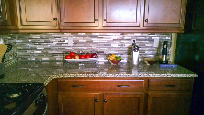 Charlotte Nc Kitchen Tile Bar Backsplash Renovation