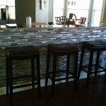 Knee Wall Bar, Kitchen Tile Renovation, Charlotte, NC