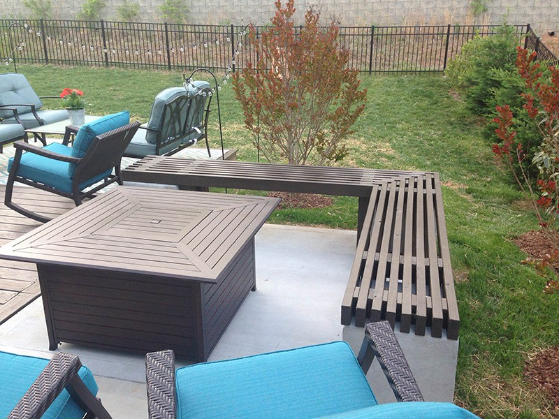 Wood Over Concrete Patio Wood Planks For Outdoor Concrete Patio ...