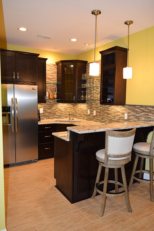 Mooresville Basement Remodeling with new Kitchen