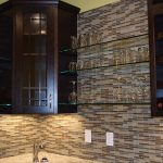 Mooresville Basement Renovation, Tile Backsplash