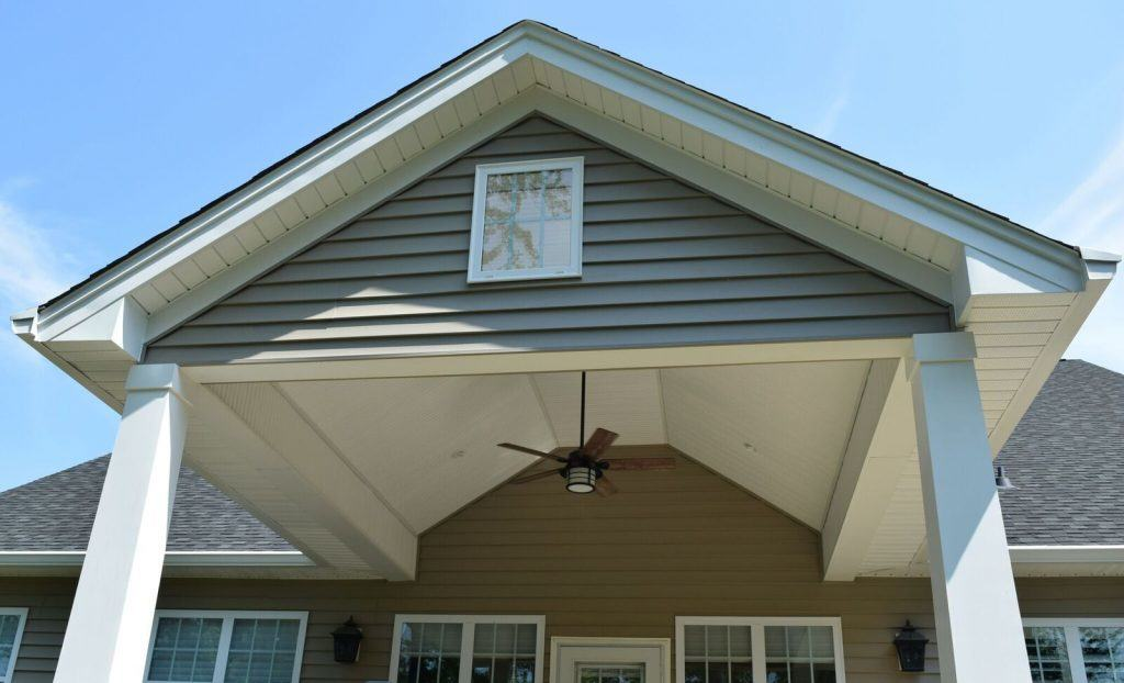 Covered Porch by Cornelius Outdoor Living Remodeling Contractor