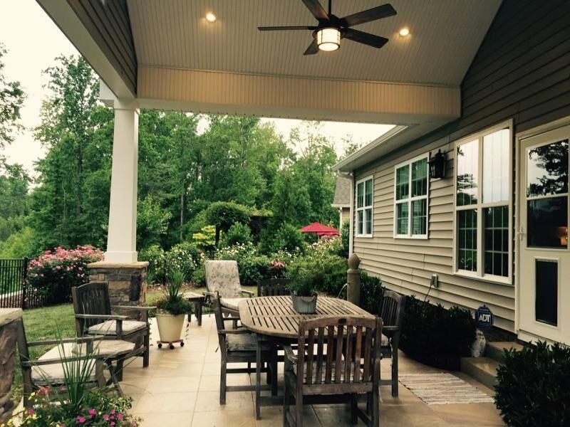 Cornelius Outdoor Living Remodeling Contractor Finished