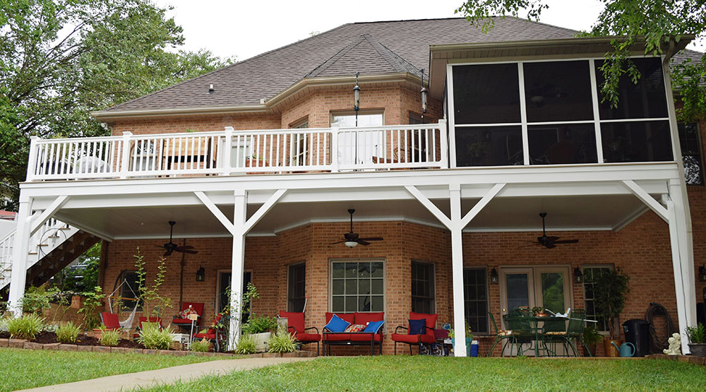Deck & Porch Contractor in Mooresville Lake Norman area