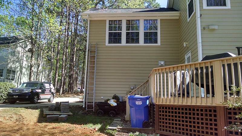 BEFORE - Mooresville, NC Screen Porch