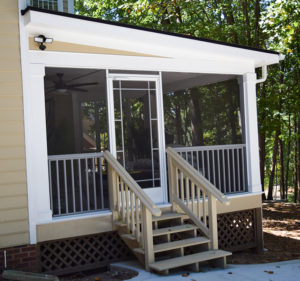 Mooresville, NC Screened Porch