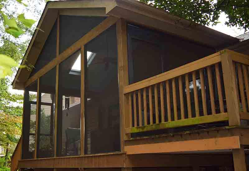 Screen Contractor for your Porch, Sunroom or Patio Enclosure