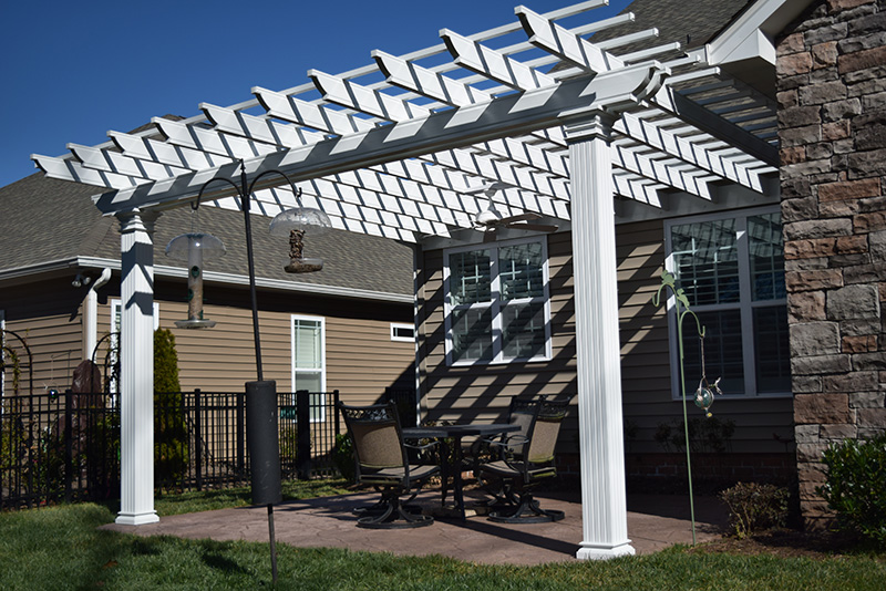 Lake Norman, Cornelius, NC Pergola Builder