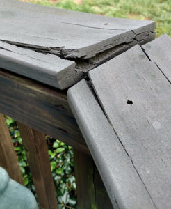 Deck Falling Apart in Mooresville, NC