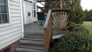 JAG Construction to the Rescue on this not so old deck in Mooresville
