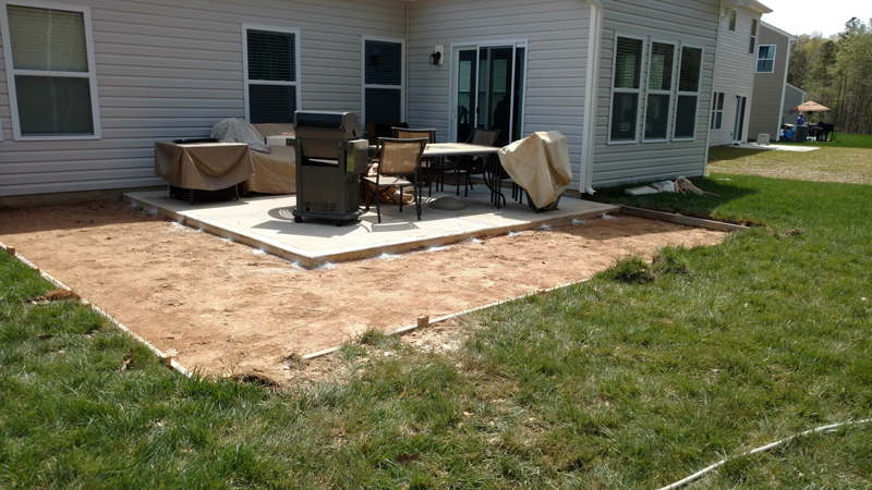 JAG Construction Patio Builder in Mooresville, NC