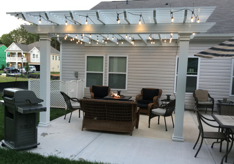 Patio Builder, Pergola Builder in Mooresville, NC