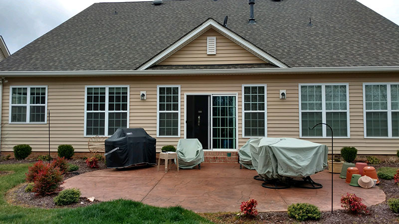 BEFORE Screened Porch