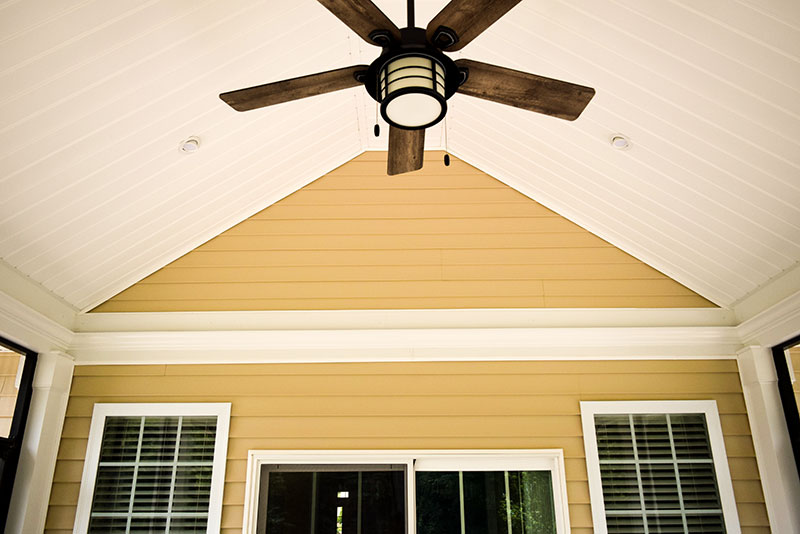 Screened Porch Ceiling