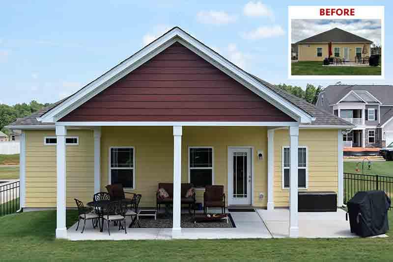 Denver, NC Covered Porch Builder