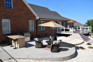 Outdoor Living Space Creation from JAG Construction in Denver, NC