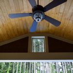 Interior, Fan and Ceiling for Mooresville Covered Porch