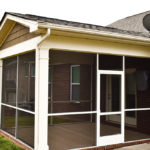 Screen Porch Project in Mooresville, NC