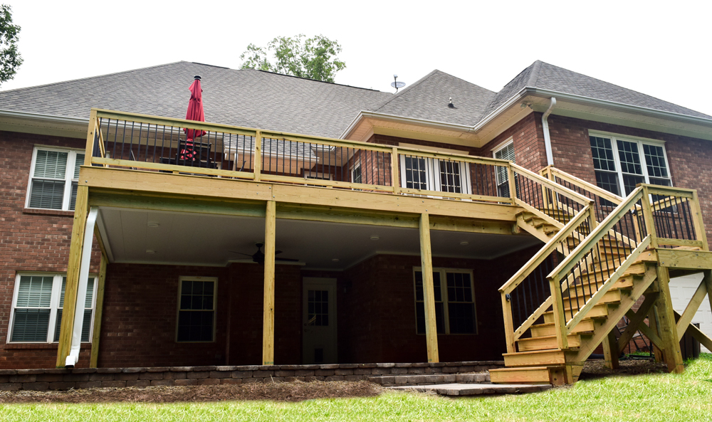 Mooresville Deck Builder, Covered Patio Builder