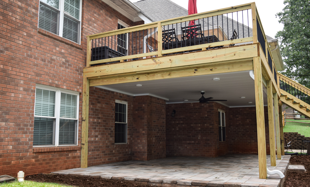 Mooresville Deck and Covered Patio