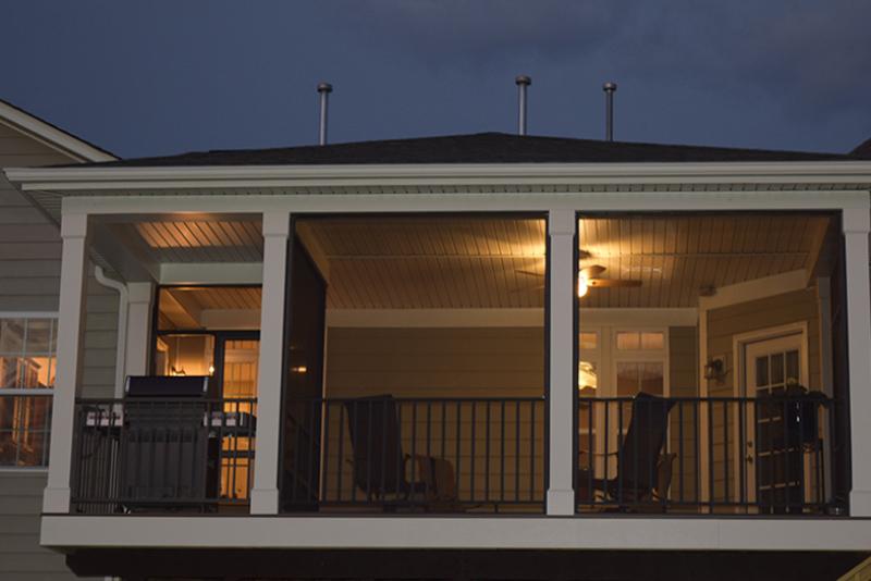 Screen Porch in Huntersville, NC