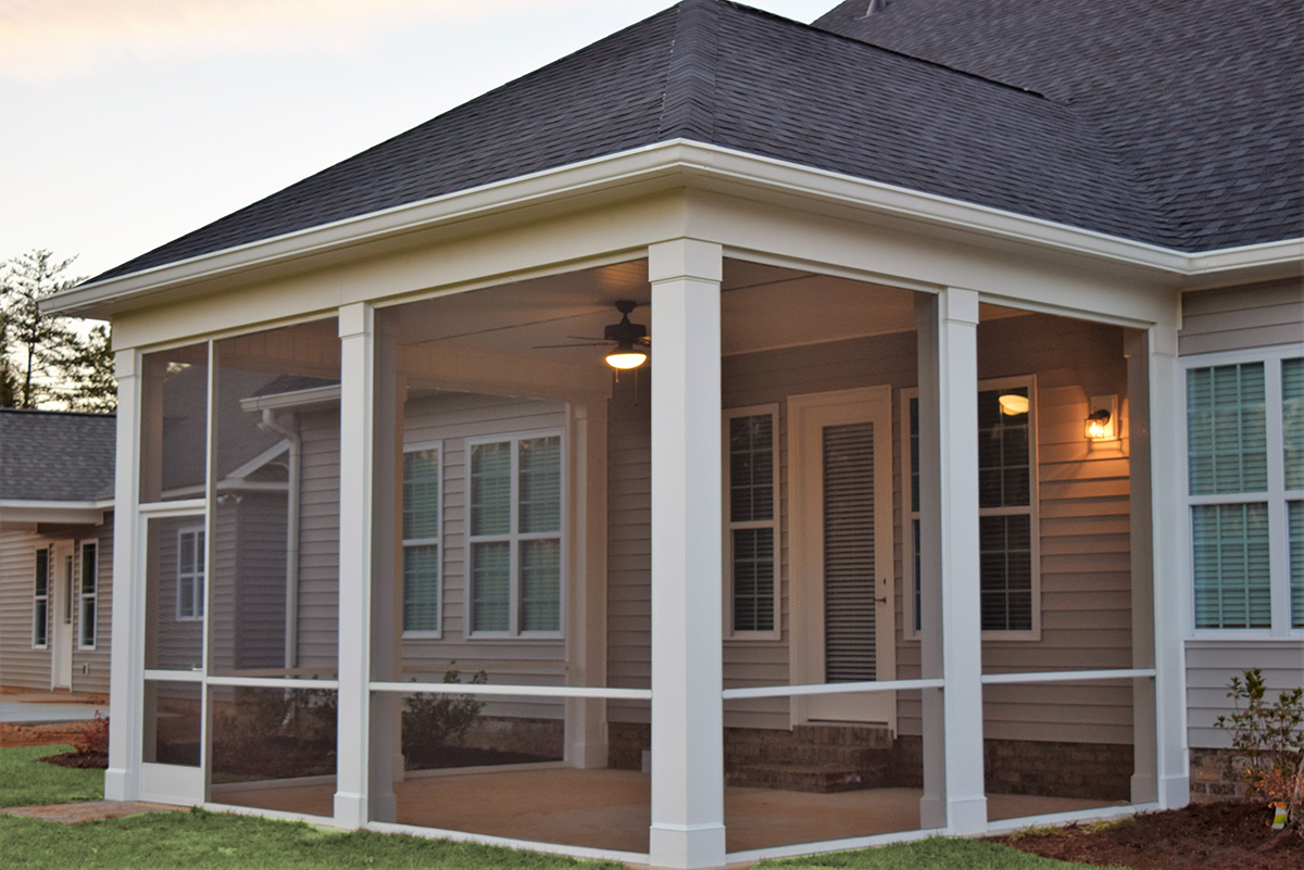 Cornelius Screen Porch Builder