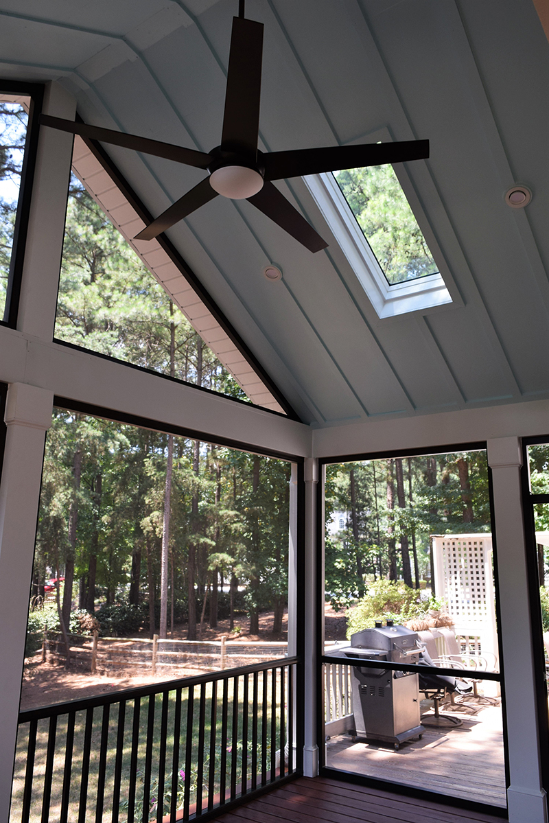 Screen Porch Interior, Mooresville