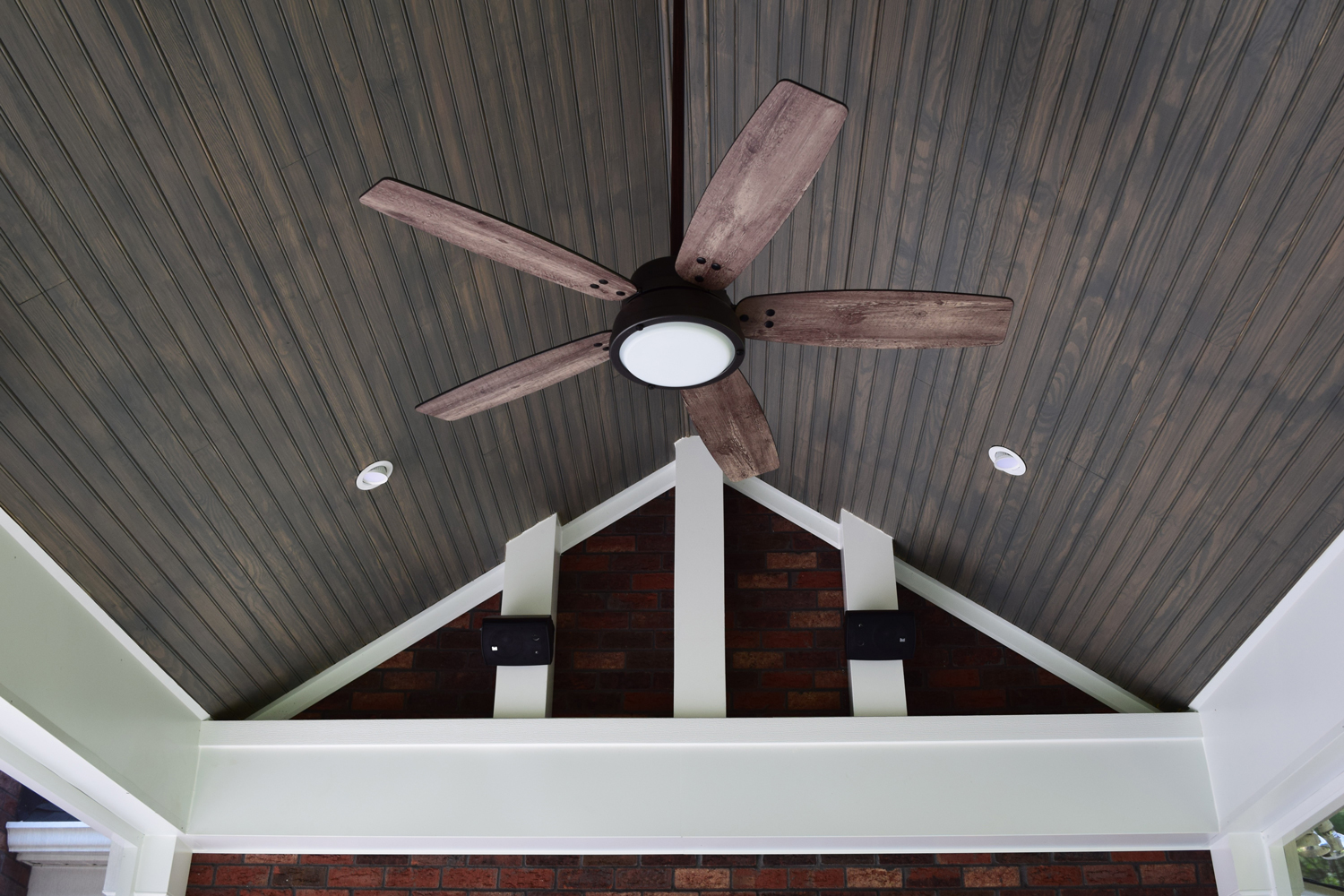 Denver, NC Screen Porch Interior Ceiling