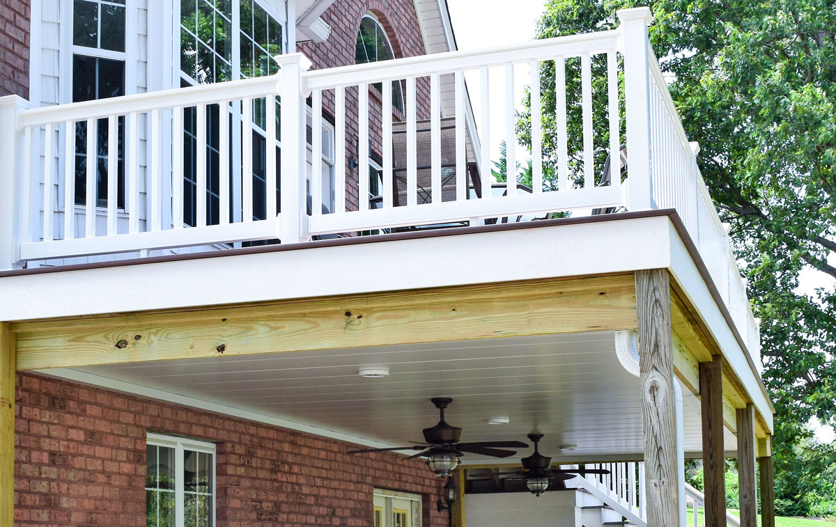 JAG Outdoor Living Deck , Waterproof Ceiling