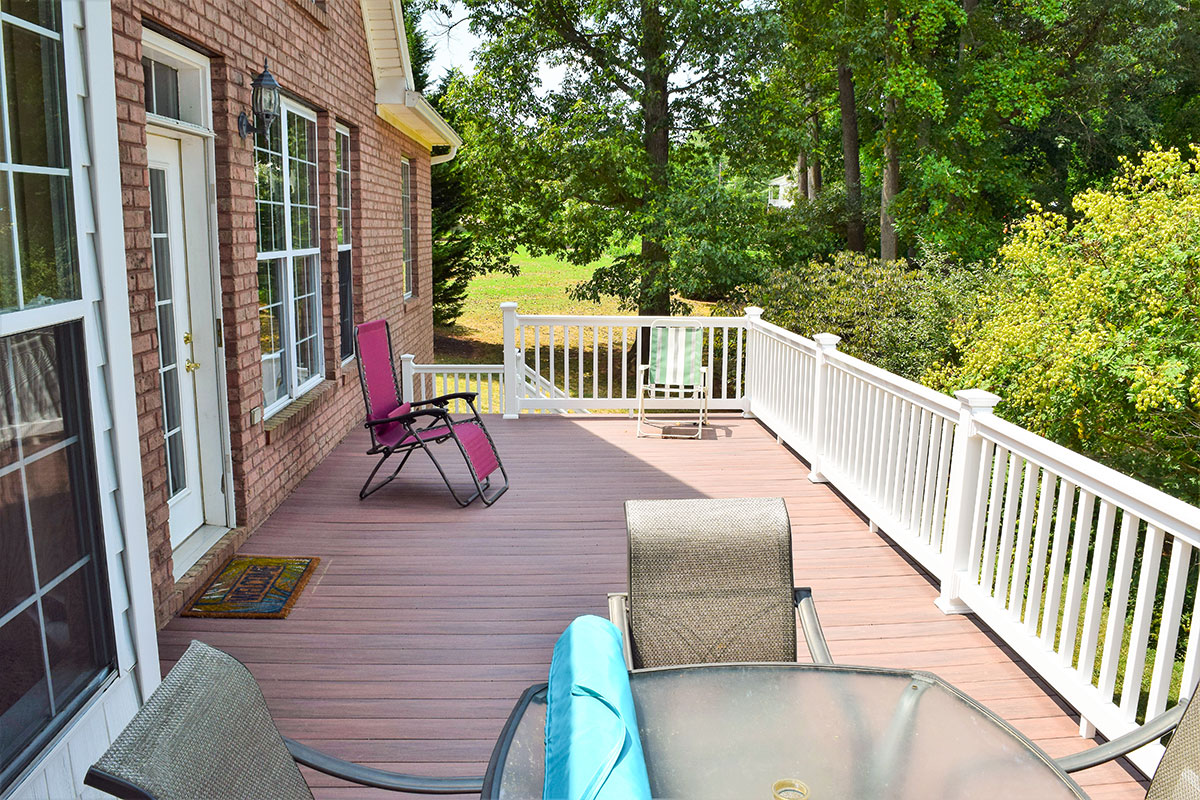 Wolf PVC Decking in Mooresville, NC