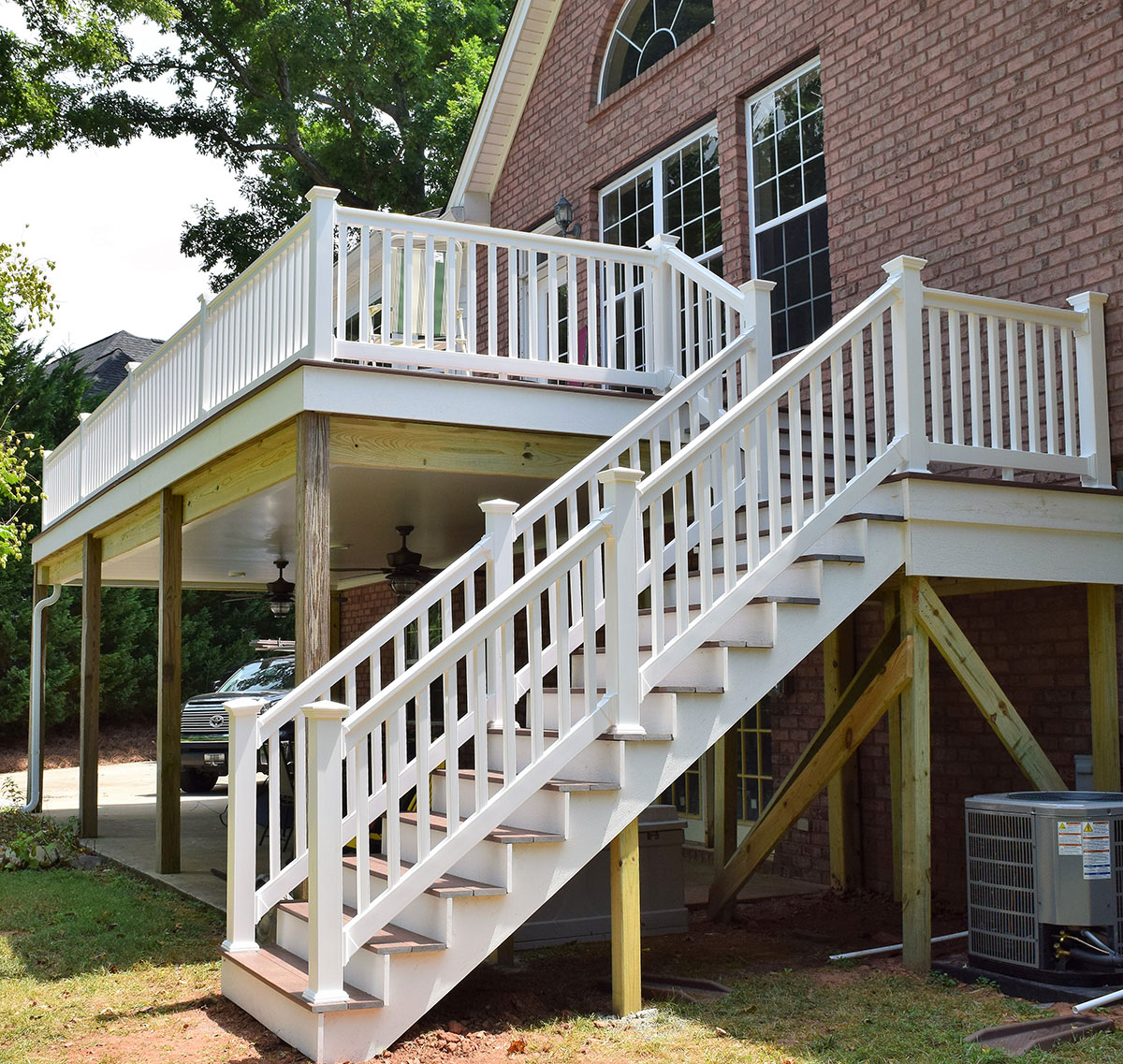 Mooresville Deck and Stairs Project