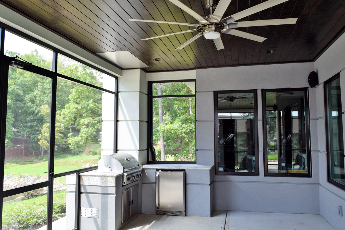 Lake Norman Screen Porch from JAG Construction